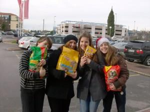 Romina, Martina, jasmina in Dora